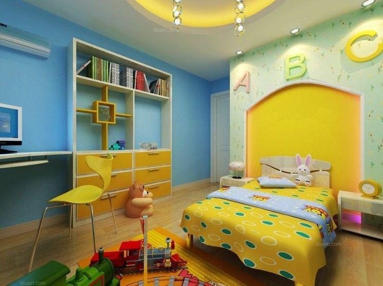 三居室地中海风格儿童房