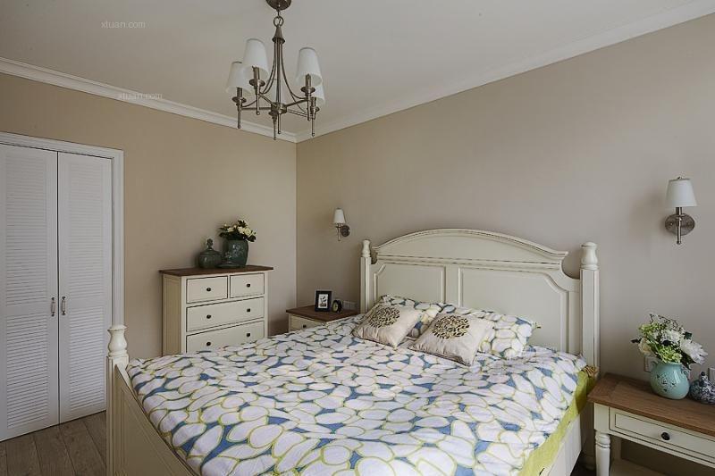 四居室地中海风格卧室
