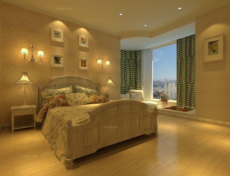 一居室地中海风格卧室