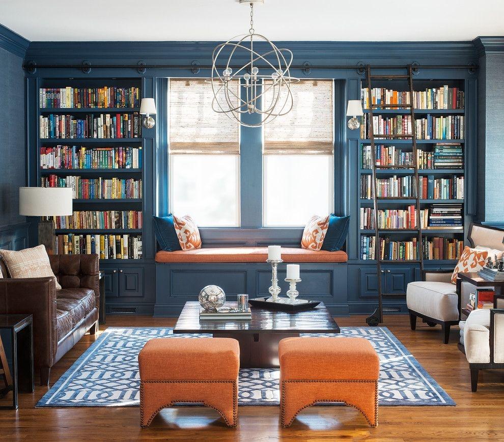 白领公寓英式风格书房
