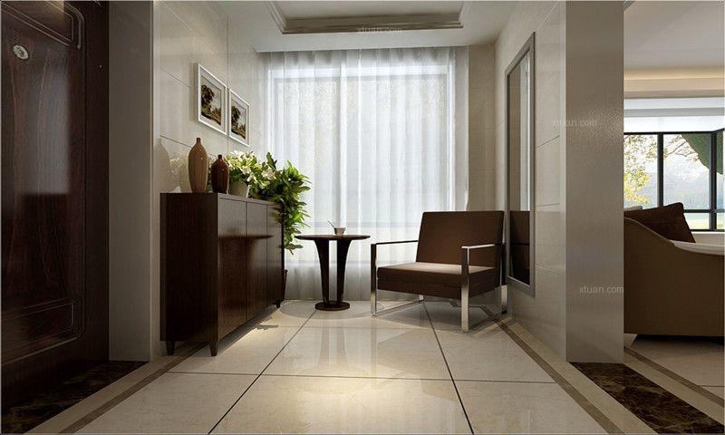 澳华城市花园三居室简单装修——呼市鼎盛创典装饰