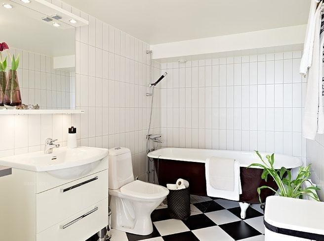 三室两厅北欧风格浴室