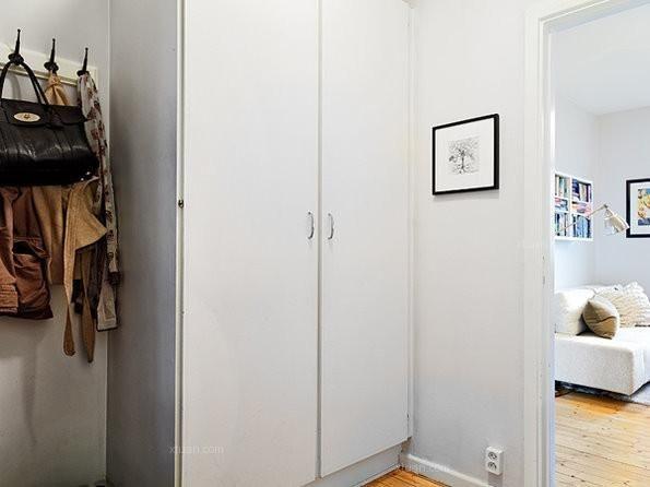 三室两厅北欧风格衣帽间