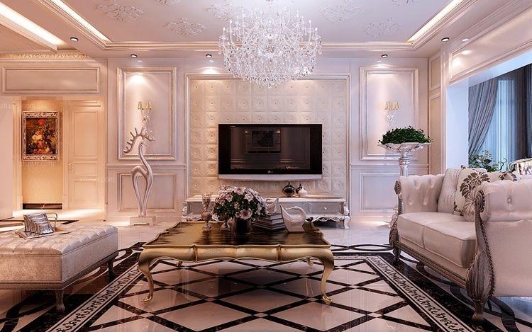 大户型简欧风格客厅