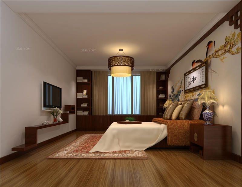 老房中式风格卧室