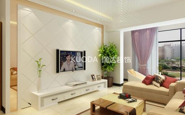 五化区时代广场112平方米现代风格中户型7.5万元