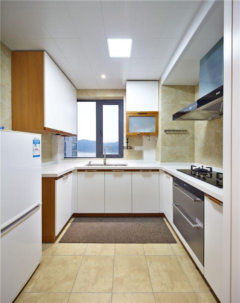 三居室美式风格厨房_彩虹城的简美生活装修效果图-x团