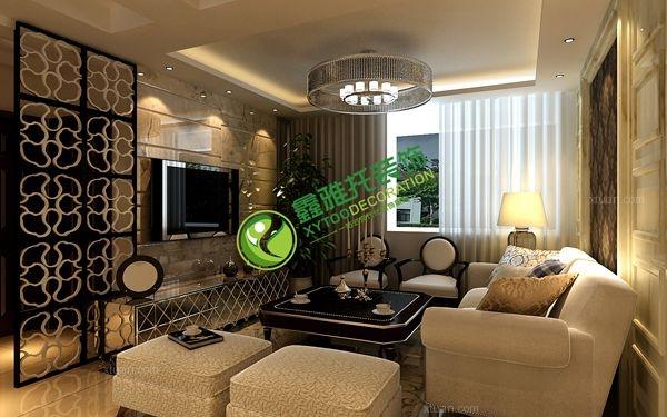 两室一厅简欧风格过道_鲁商蓝岸(2)装修效果图-x团图片