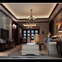 国贸天琴湾两房美式设计图片