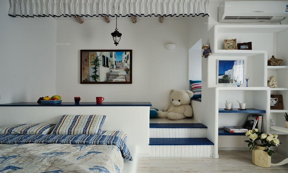 幸福世家—地中海风格—三居室