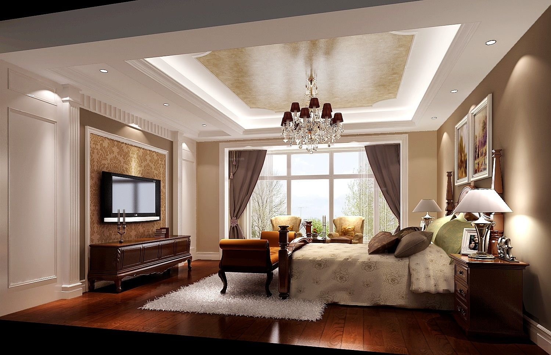 四居室混搭风格卧室