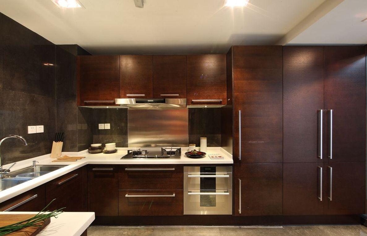 大户型中式风格厨房
