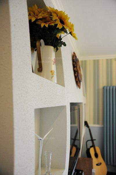 三居室地中海风格卧室