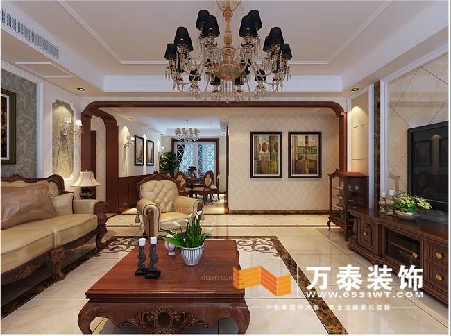 济南中海国际尚湖央邸新古典装修效果图