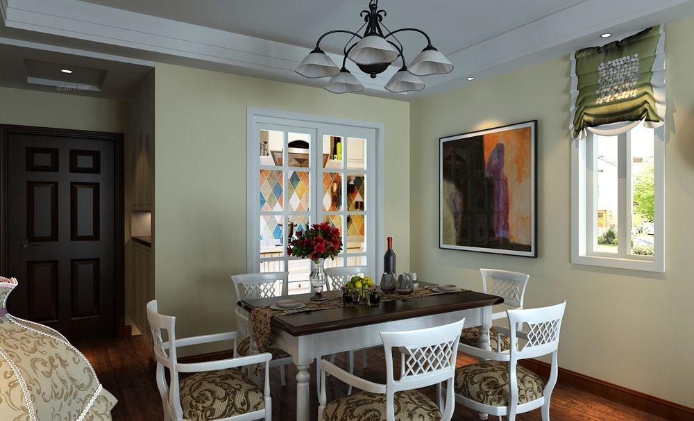 两室两厅欧式风格餐厅厨具