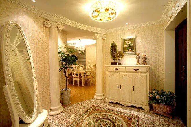 三室两厅简欧风格玄关