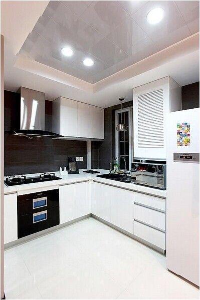 两居室现代简约厨房