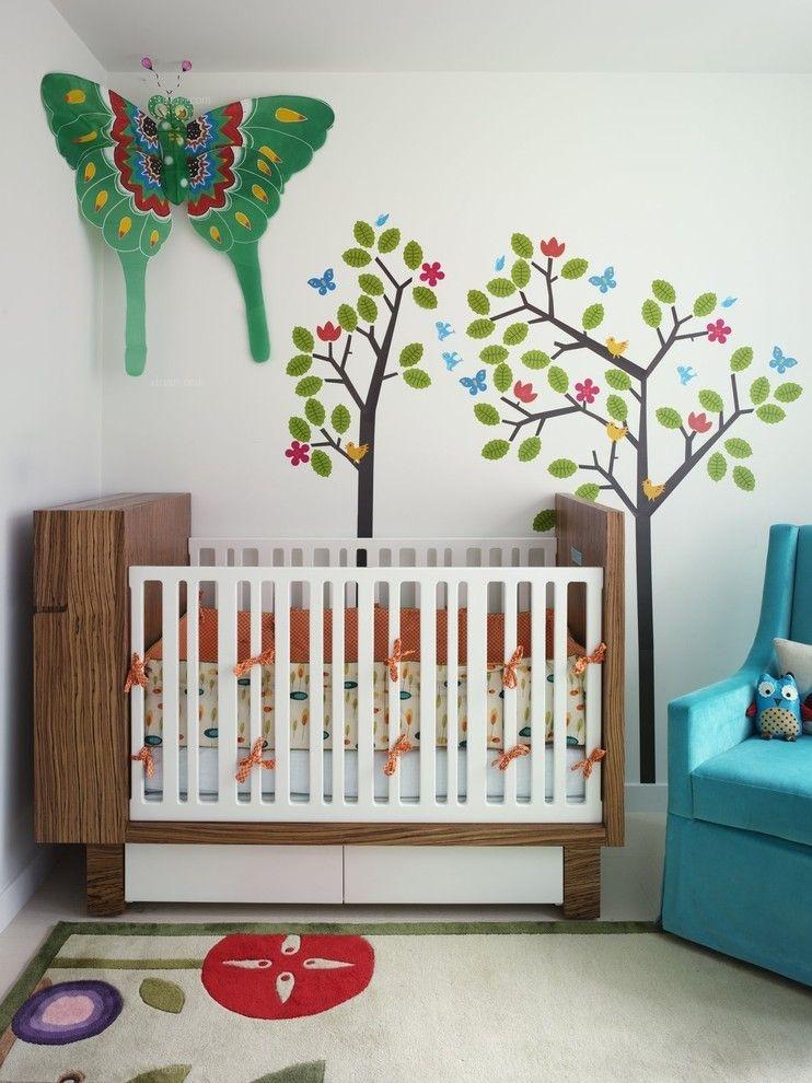 四居室混搭风格婴儿房