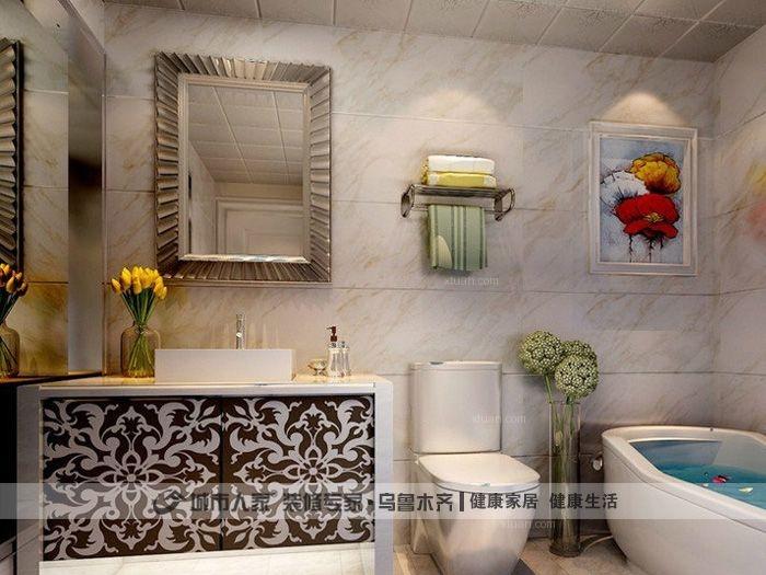 两室一厅简欧风格餐厅图片