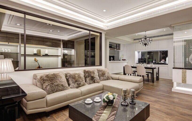 三居室古典风格客厅