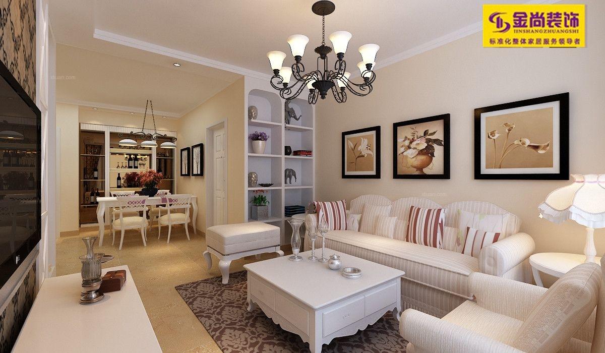 海信慧园-83平二居室-现代简约风格装修设计案例效果图鉴赏