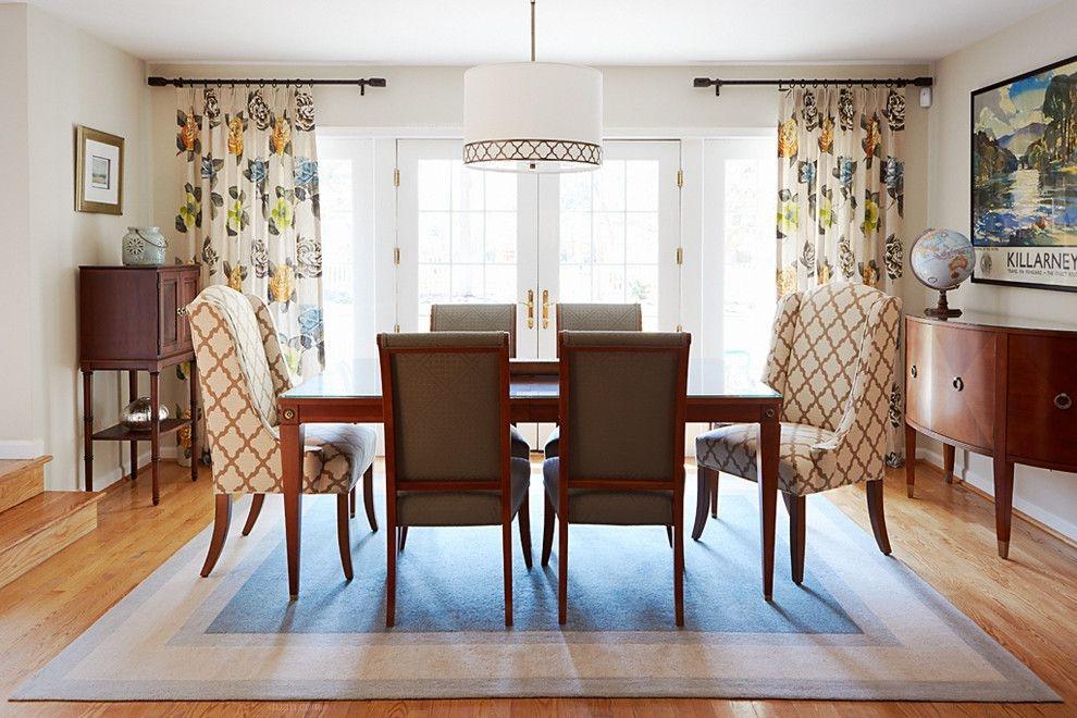 四居室英式风格餐厅