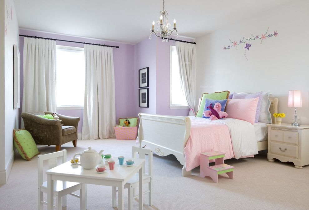 四居室现代风格儿童房