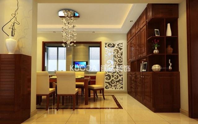 盘龙区金尚俊园109平方米新中式风格M户型7.2万元
