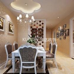 五华区怡合景苑117平方米欧式风格B1户型8.1万元
