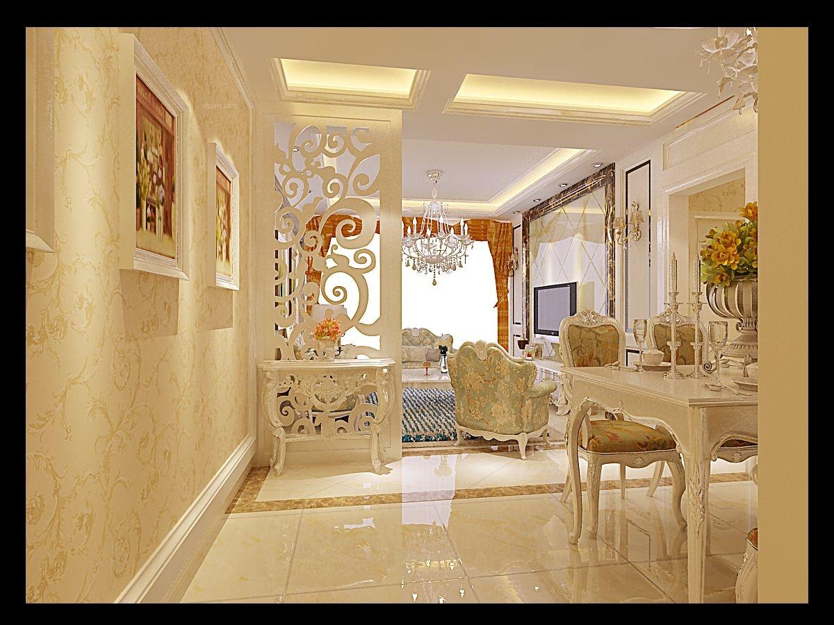 两室两厅欧式风格玄关图片