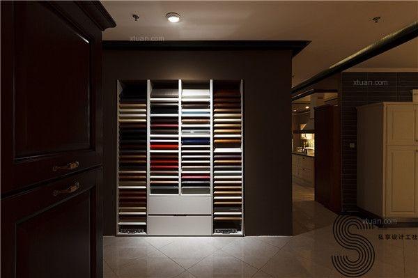 成都私享高端橱柜商铺设计—意大利威乃达橱柜旗舰店