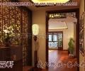 中式居家平层住宅,打造婉约如自然天成的美好