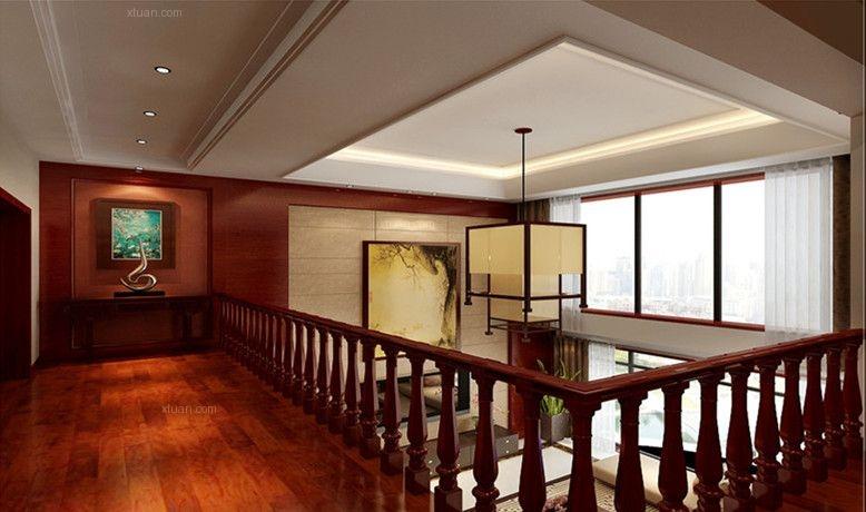两居室现代简约过道墙绘