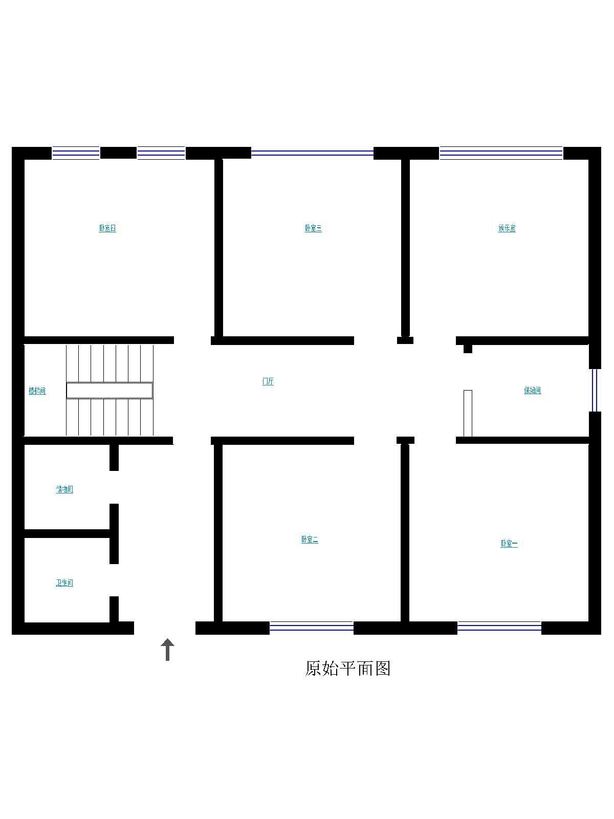 孔雀城235平米别墅欧式风格打造品味家居