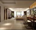 园艺御景三居室简约风格装修——呼市鼎盛创典装饰