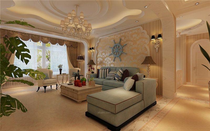 孔雀城-295平普通住宅-现代简约风格