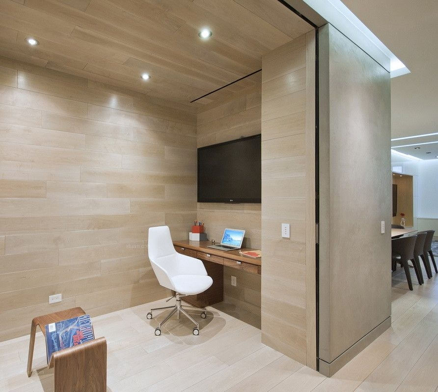 四居室现代风格书房