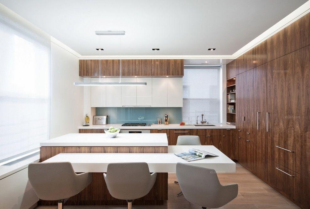 四居室现代风格厨房