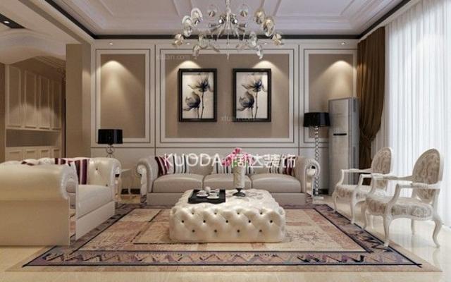 西山区广福城143平方米欧式风格D3户型9.7万元