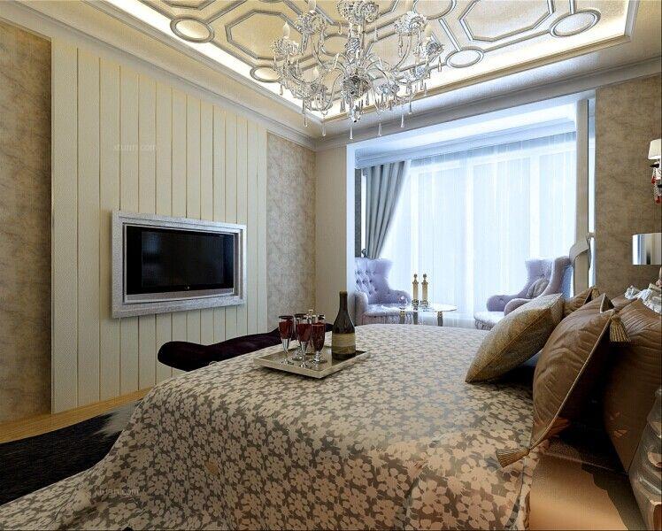 帝景豪庭178平米三居室简欧风格