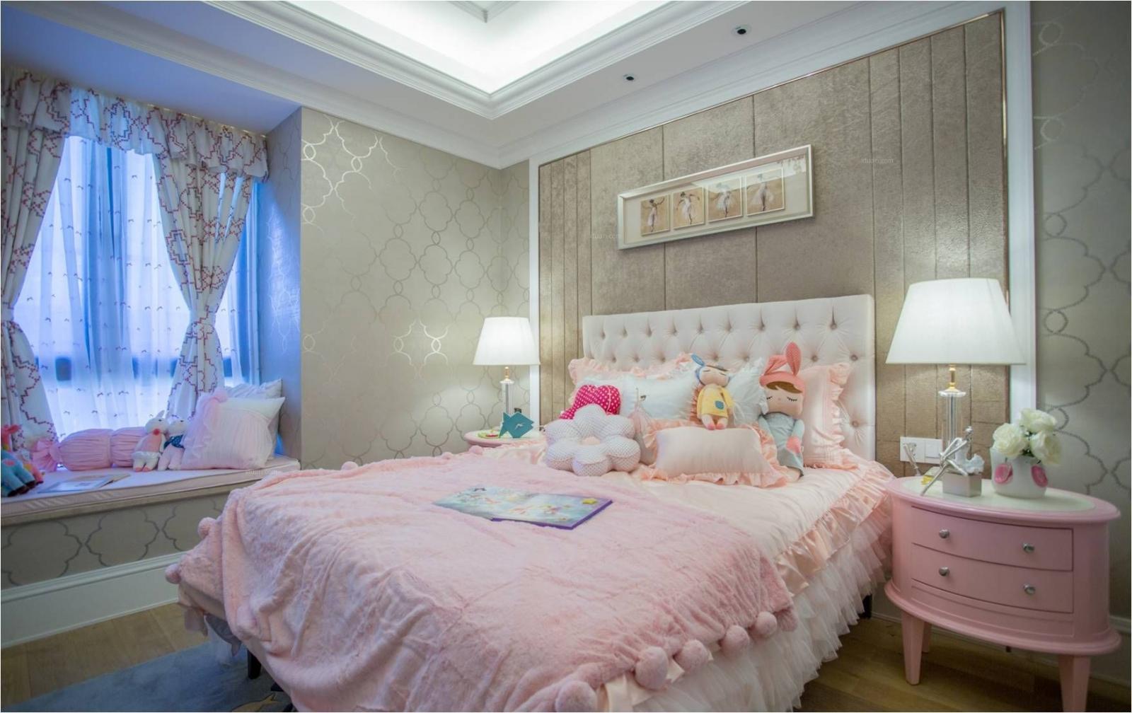 三室一厅地中海风格卧室