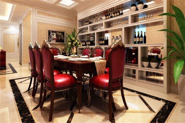 别墅简欧风格餐厅