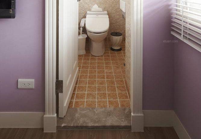 三居室田园风格浴室隔断