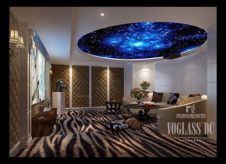 领袖新硅谷简欧风格案例由尚层别墅装饰设计