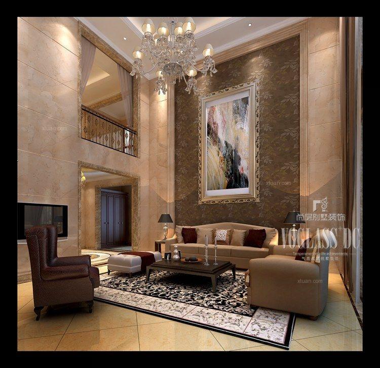别墅简欧风格客厅