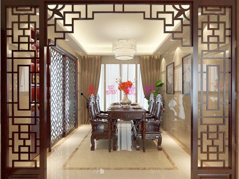 三室两厅混搭风格餐厅