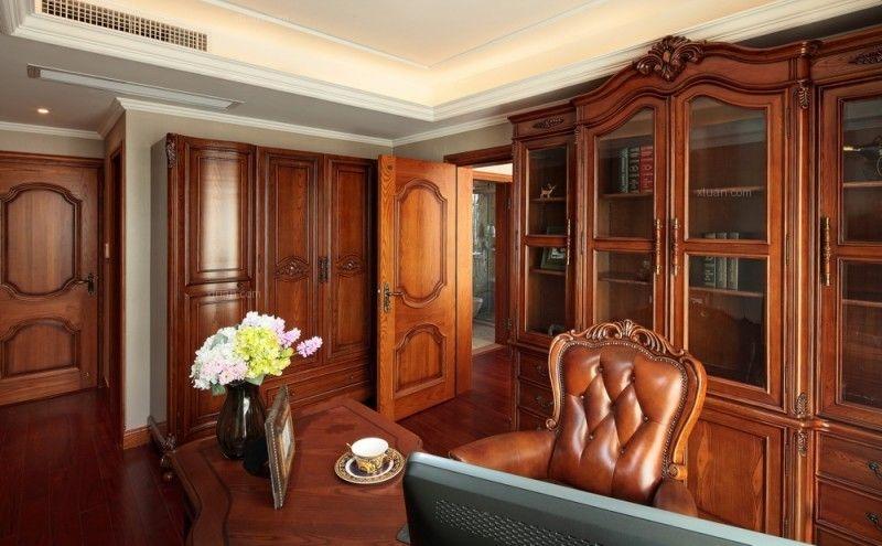 四居室美式风格书房