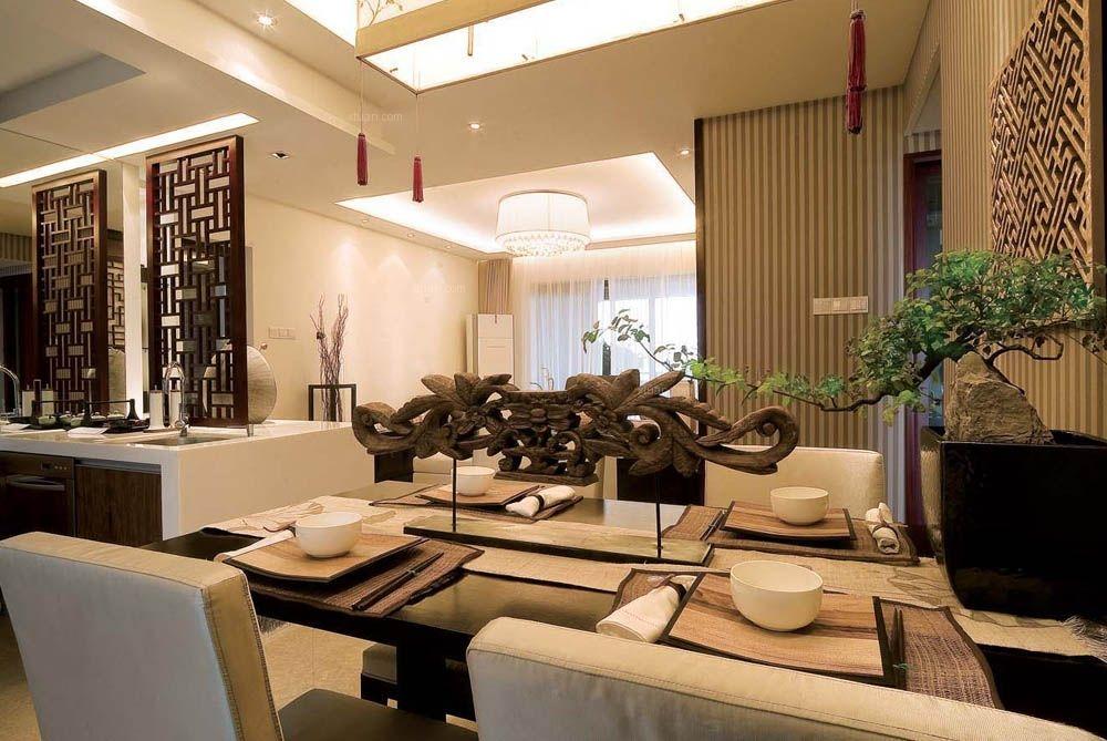 两居室现代简约餐厅隔断