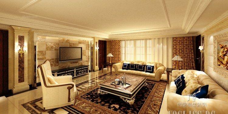 万泉新新家园新古典风格案例尚层别墅装饰设计