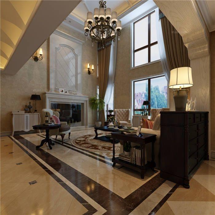 普罗旺世罗曼维森美式风格别墅装修设计效果图